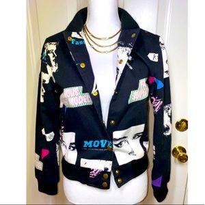 👩🏼🎤COOL Joyrich Multicolor jacket Sz S